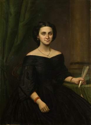 Unidentified Artist - U.S. Civil War Era Portrait