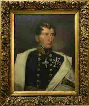 Late 19th C. Oil/Canvas Imperial German, Signed