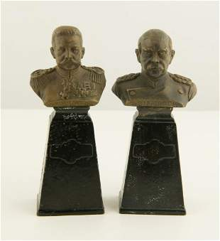 Late 19th / Early 20th C. German Bronze Pair