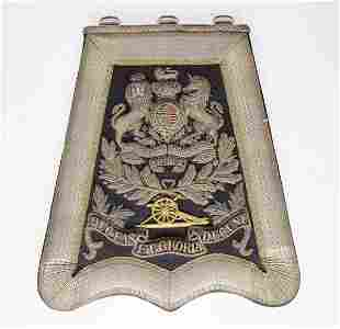 English Artillery Emblem Late 19th / Early 20th C