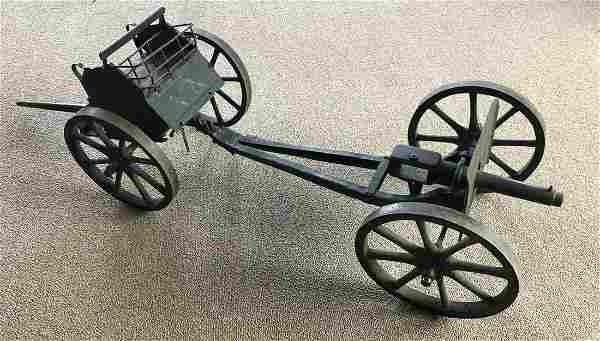 Antique Large Metal Toy Canon c.1900