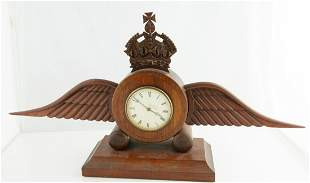 Royal Air Force Traveling Clock WW1 era