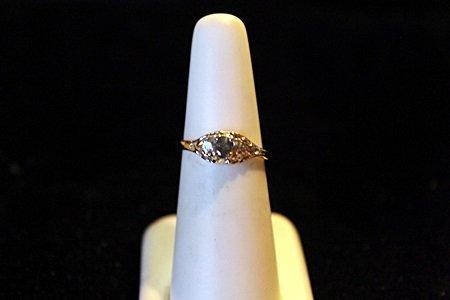 Rare Russian Alexandrite & Sapphire 14kt Ring