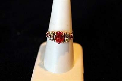 1.84ct Rare Padparadsha Sapphire 14kt Ring GIA