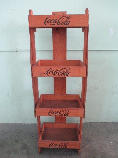 """Coca-Cola Stand W 20"""" x H 56"""""""