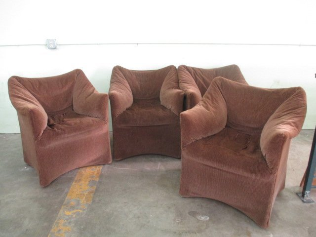 Set of Four Cassina Made in Italy