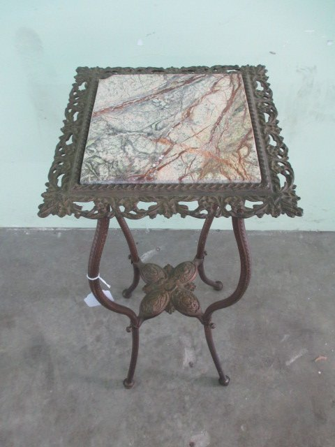 """Early Lamp Stand H 30"""""""