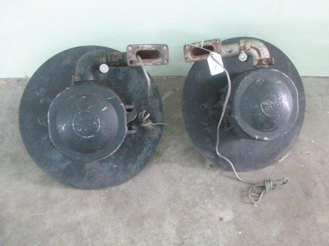 Pair of Vintage Train Lights