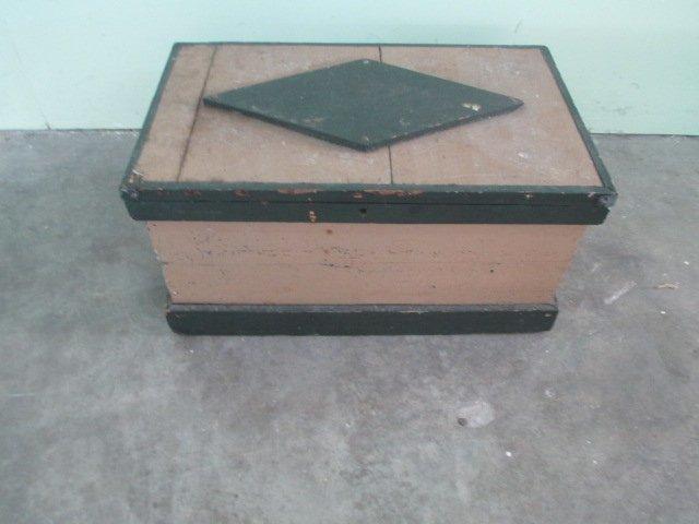 "1900's Wood Box W 22"" x H 11"""