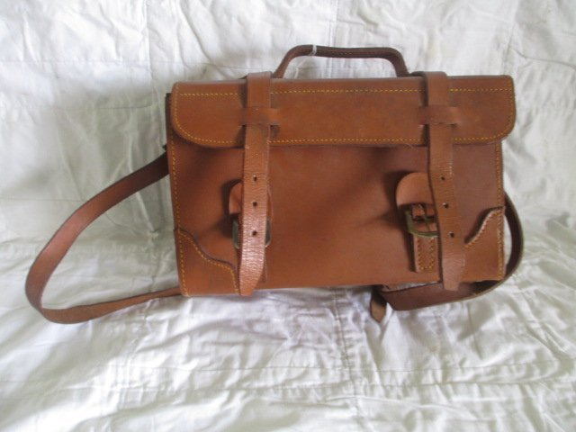 Vintage Leather Carrying Case