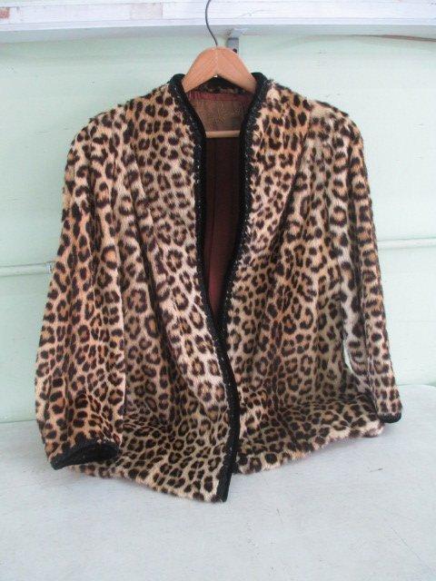 Curtis Stewart Real Leopard Jacket