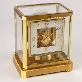 Jaeger-LeCoultre Atmos gilt table clock