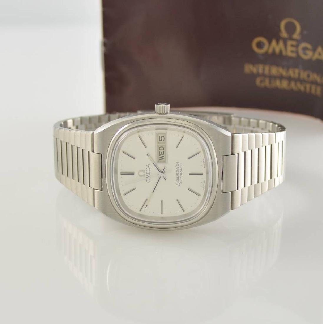 OMEGA Seamaster stainless steel gents wristwatch