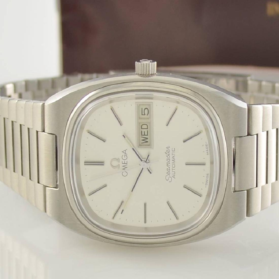 OMEGA Seamaster stainless steel gents wristwatch - 3