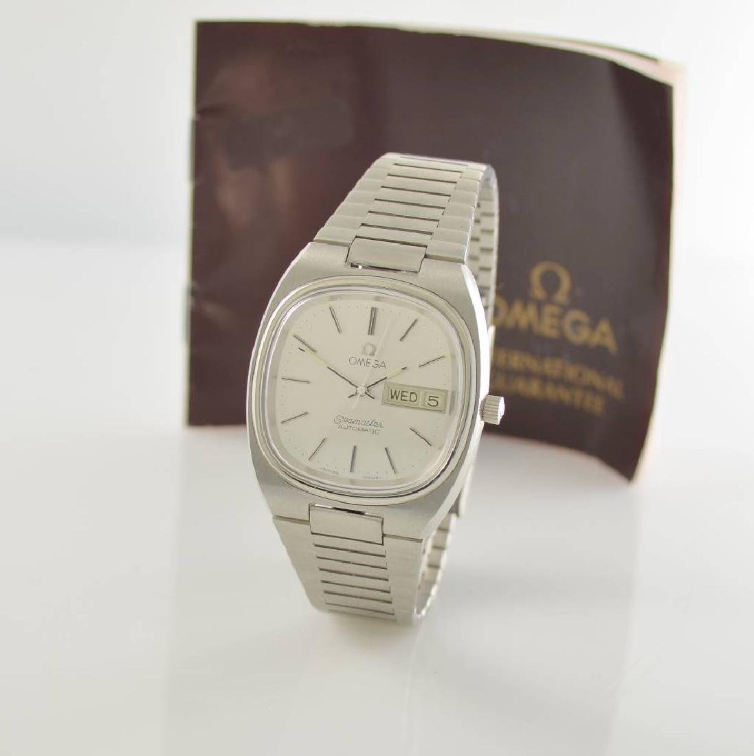 OMEGA Seamaster stainless steel gents wristwatch - 4