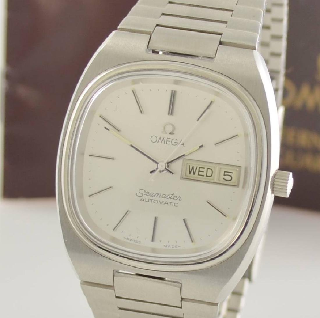 OMEGA Seamaster stainless steel gents wristwatch - 5