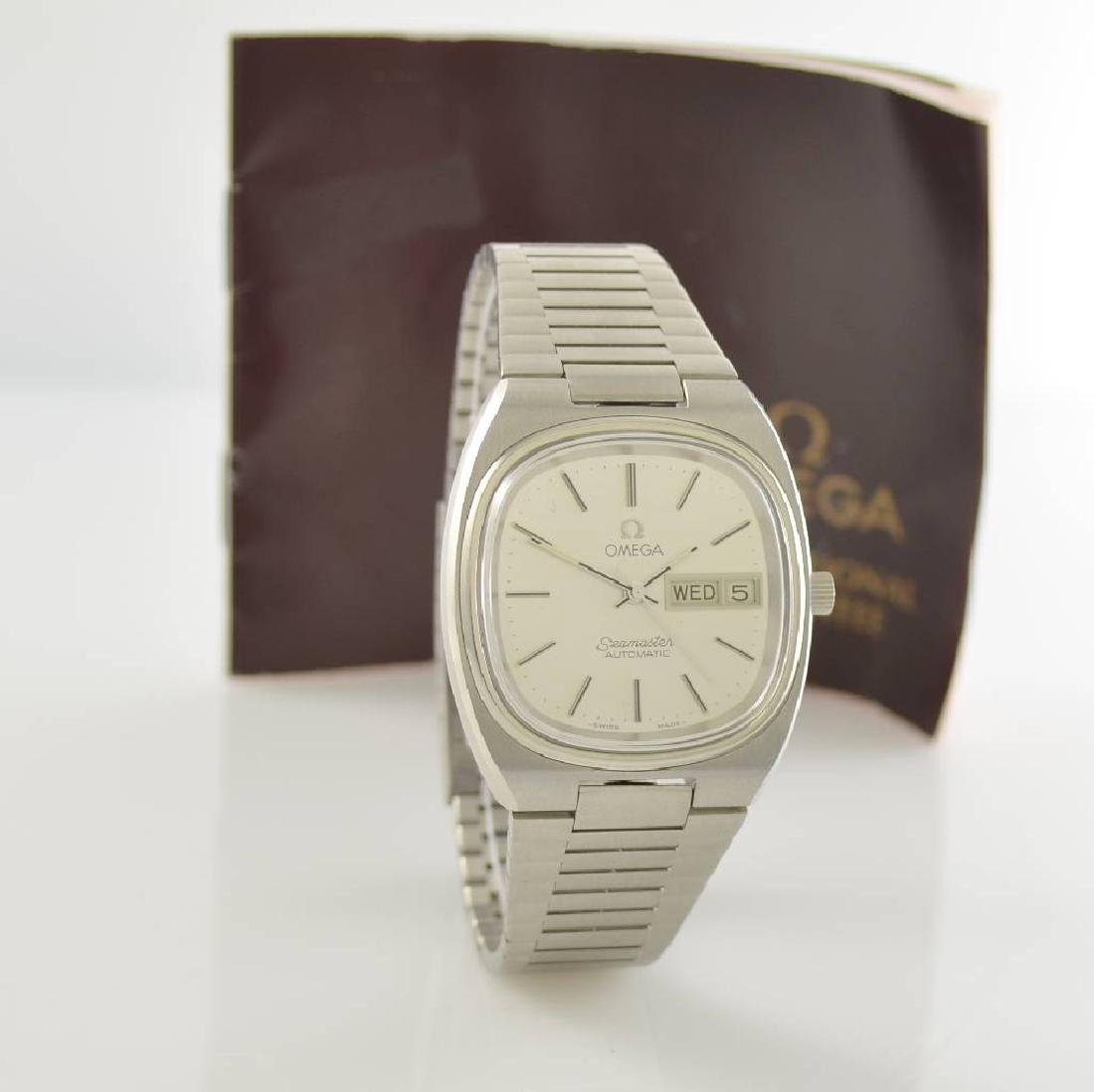 OMEGA Seamaster stainless steel gents wristwatch - 6