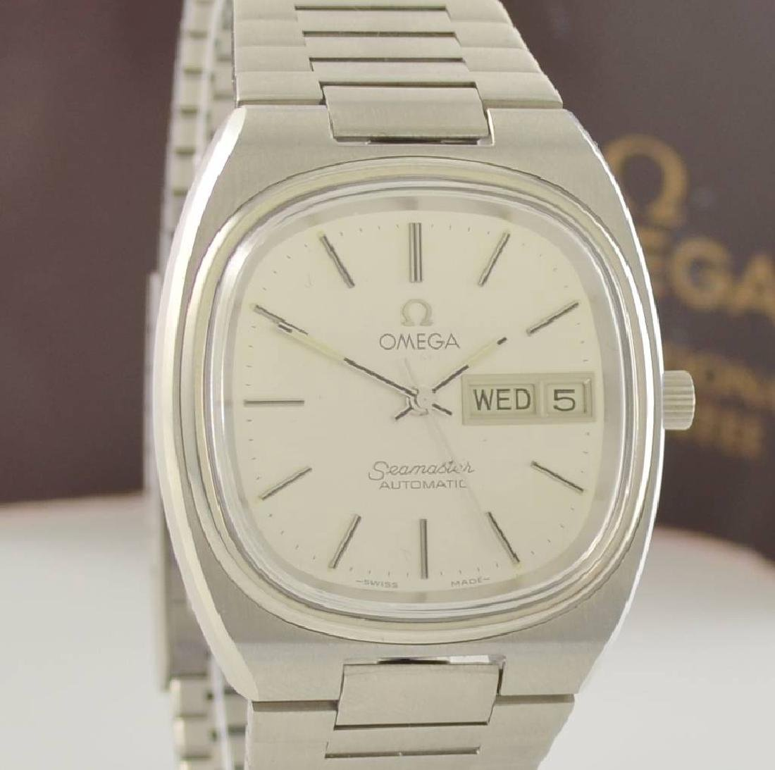 OMEGA Seamaster stainless steel gents wristwatch - 7