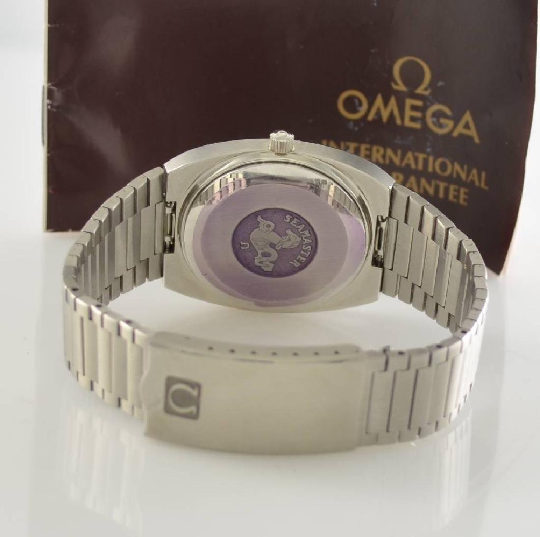 OMEGA Seamaster stainless steel gents wristwatch - 8