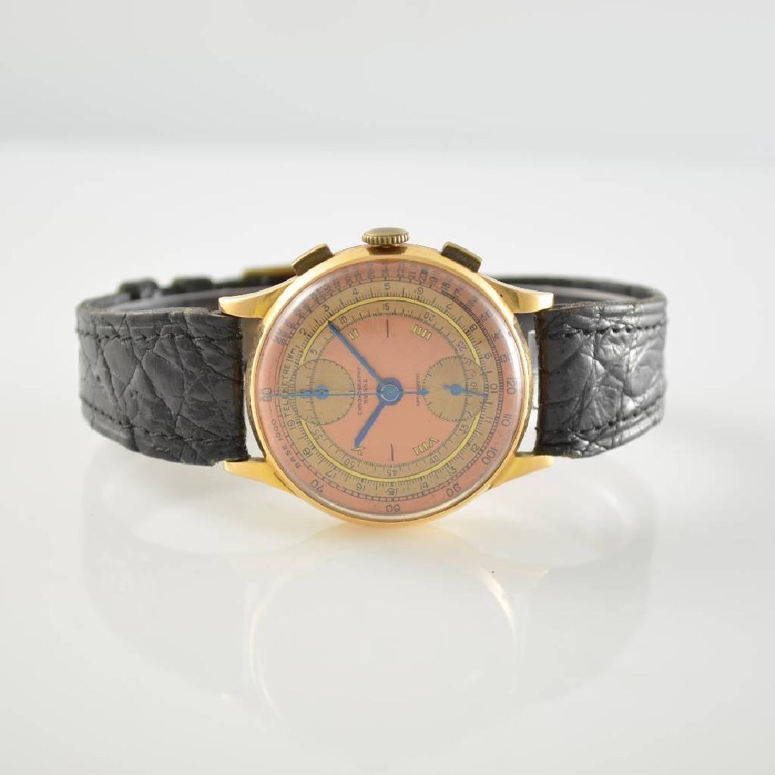 CHRONOGRAPHE SUISSE 18k gold intermediate wheel