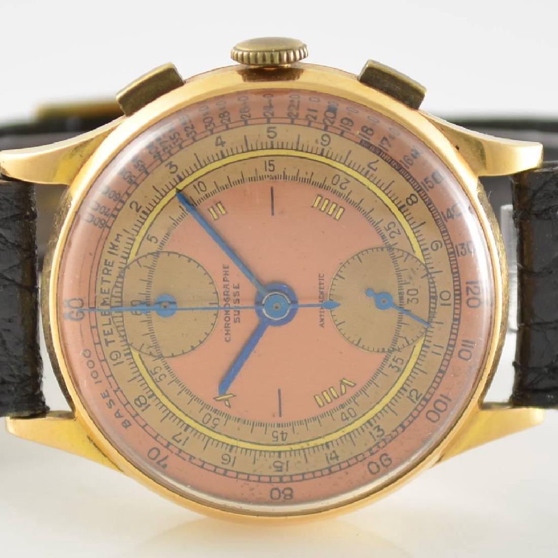 CHRONOGRAPHE SUISSE 18k gold intermediate wheel - 2