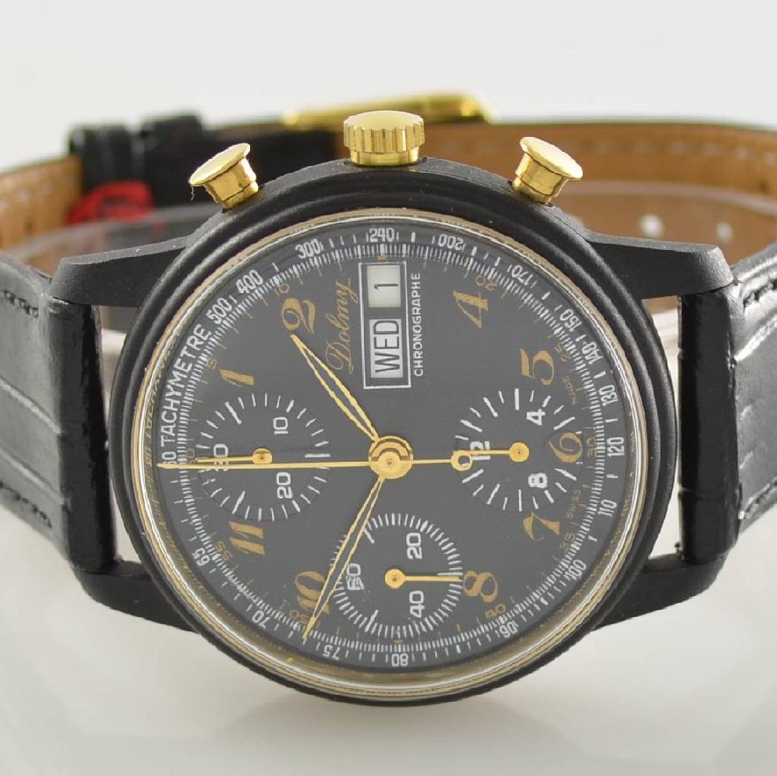 DOLMY manual wound chronograph - 2
