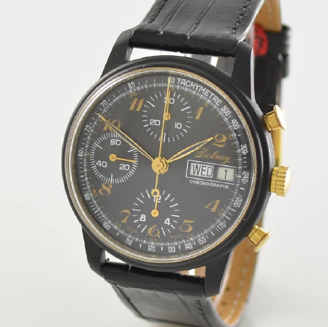 DOLMY manual wound chronograph - 4