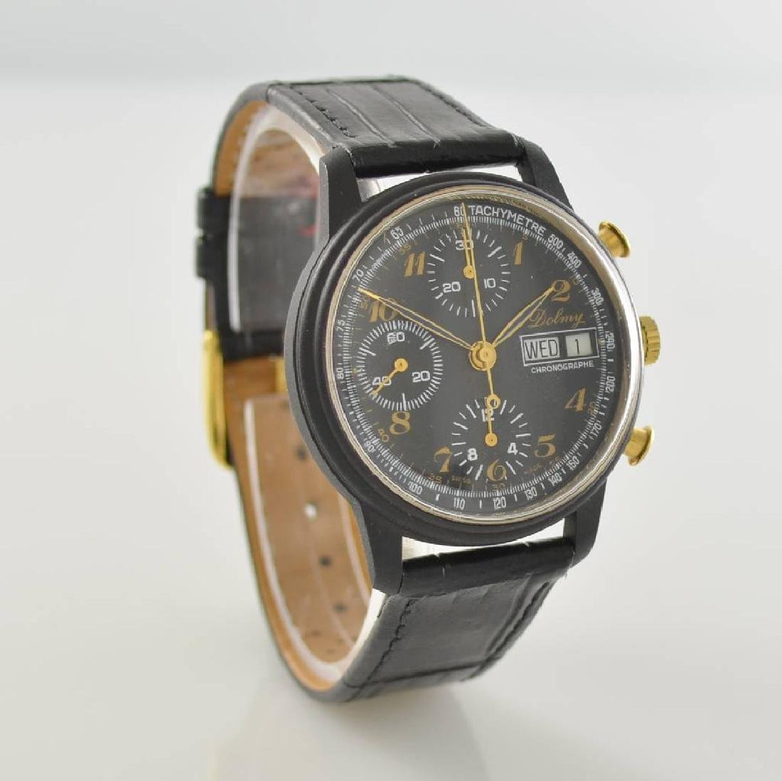 DOLMY manual wound chronograph - 5
