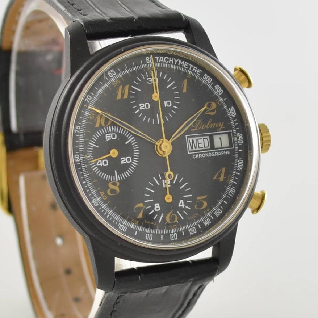 DOLMY manual wound chronograph - 6