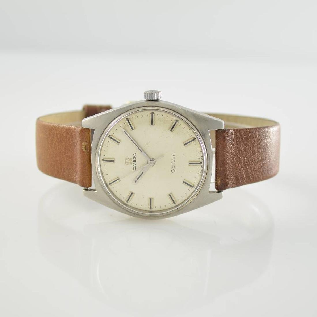 OMEGA manual wound gents wristwatch series Geneve