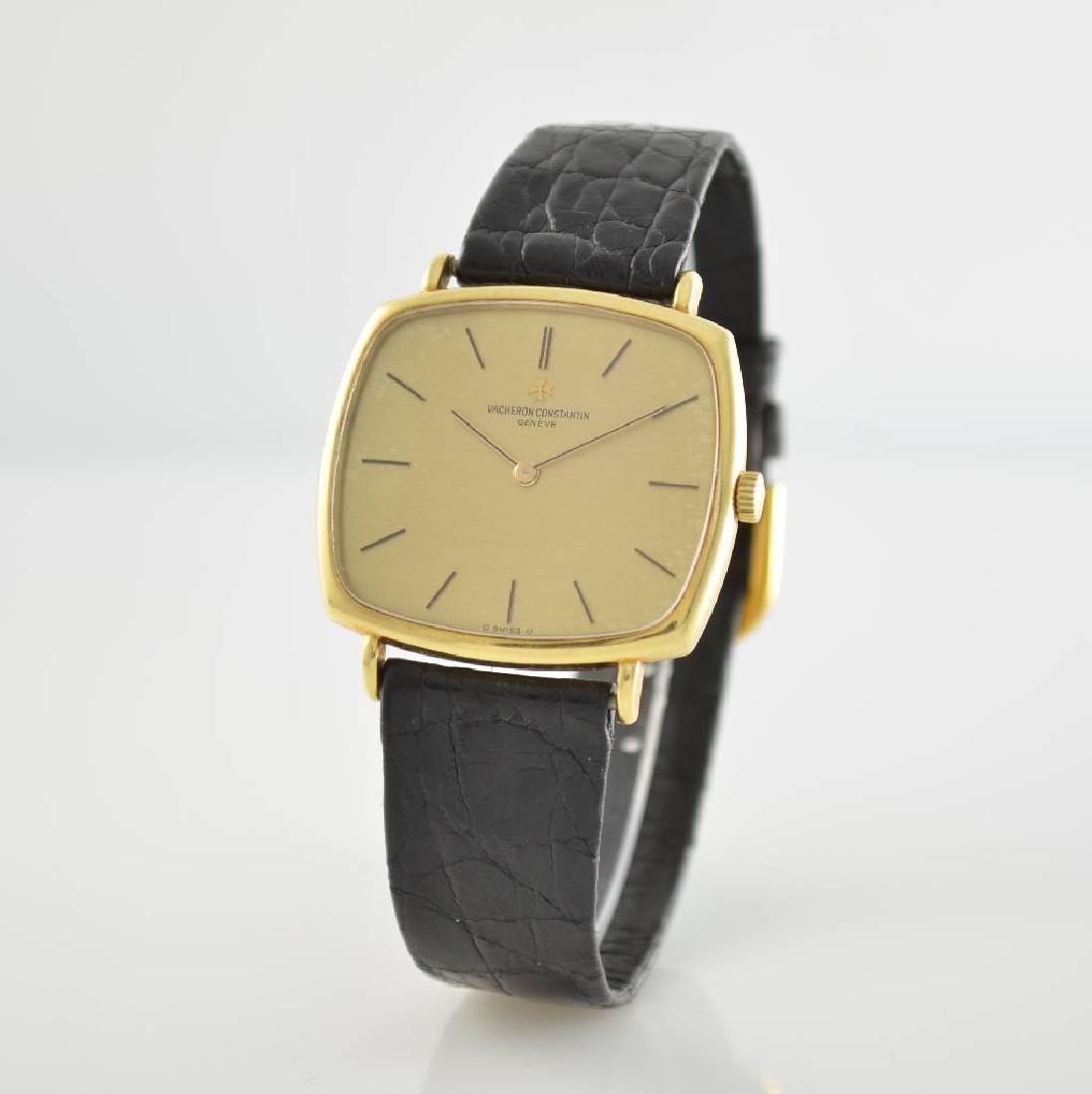 VACHERON CONSTANTIN 18k yellow gold gents wristwatch - 3