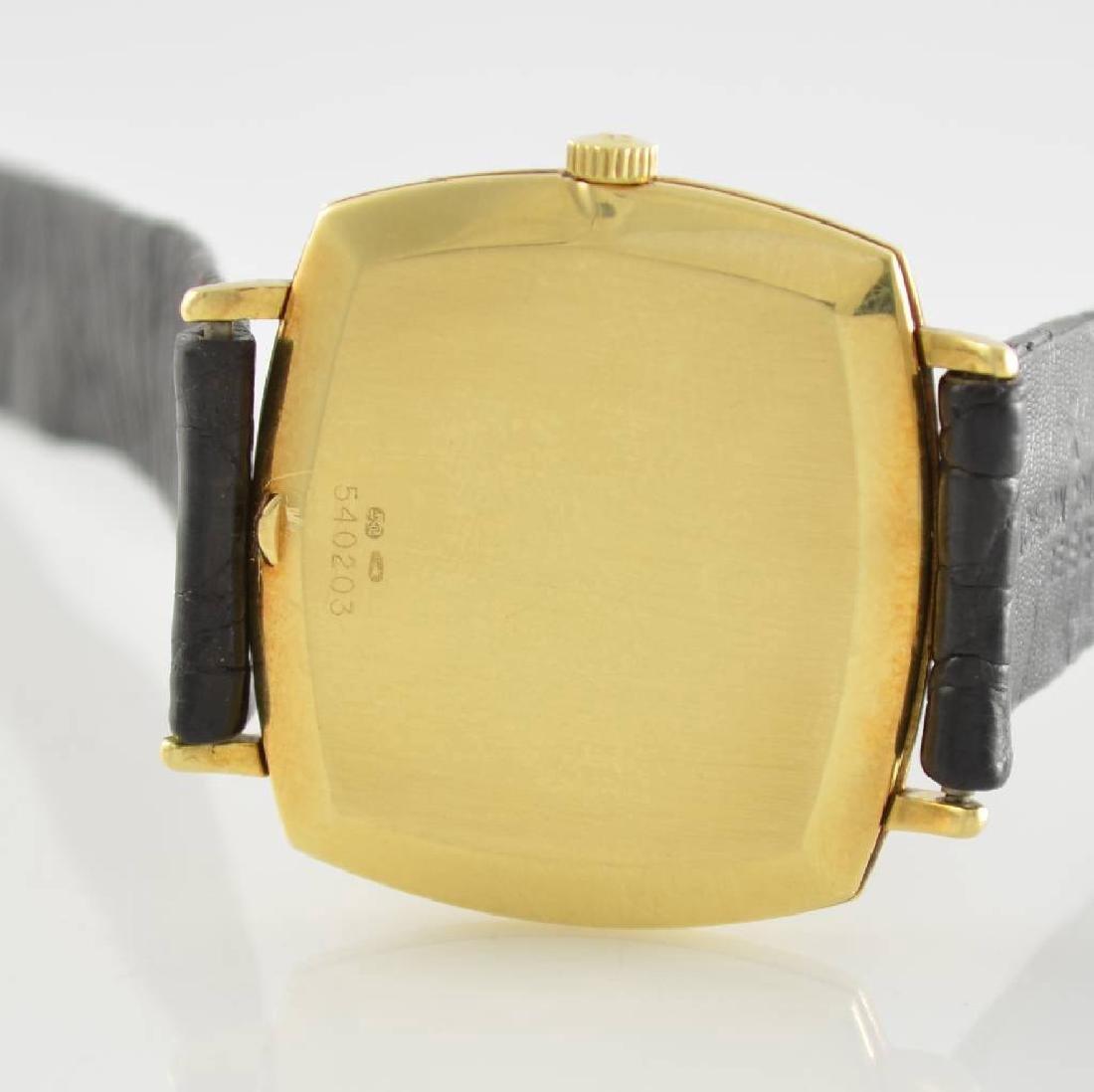 VACHERON CONSTANTIN 18k yellow gold gents wristwatch - 4