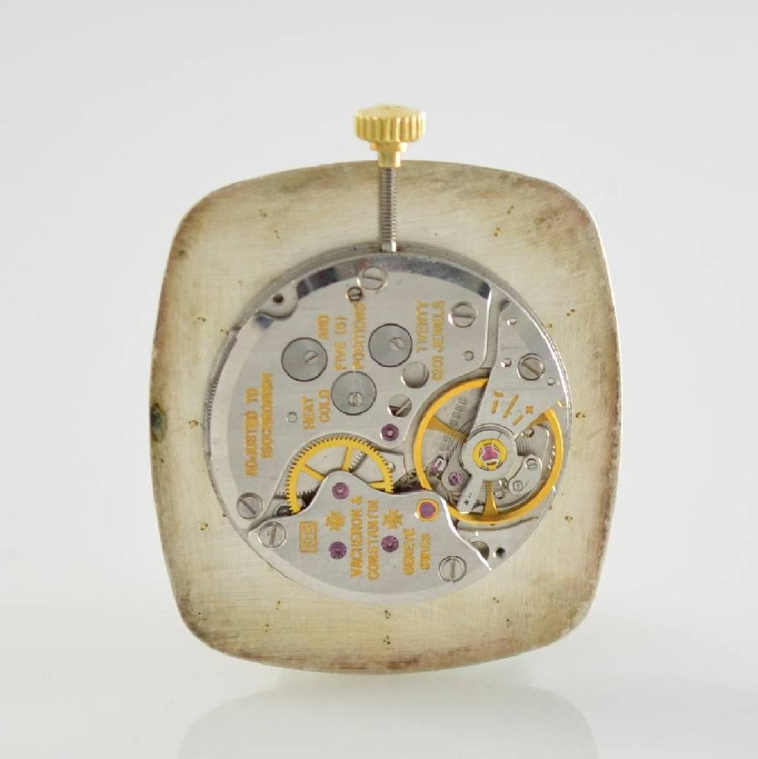 VACHERON CONSTANTIN 18k yellow gold gents wristwatch - 5
