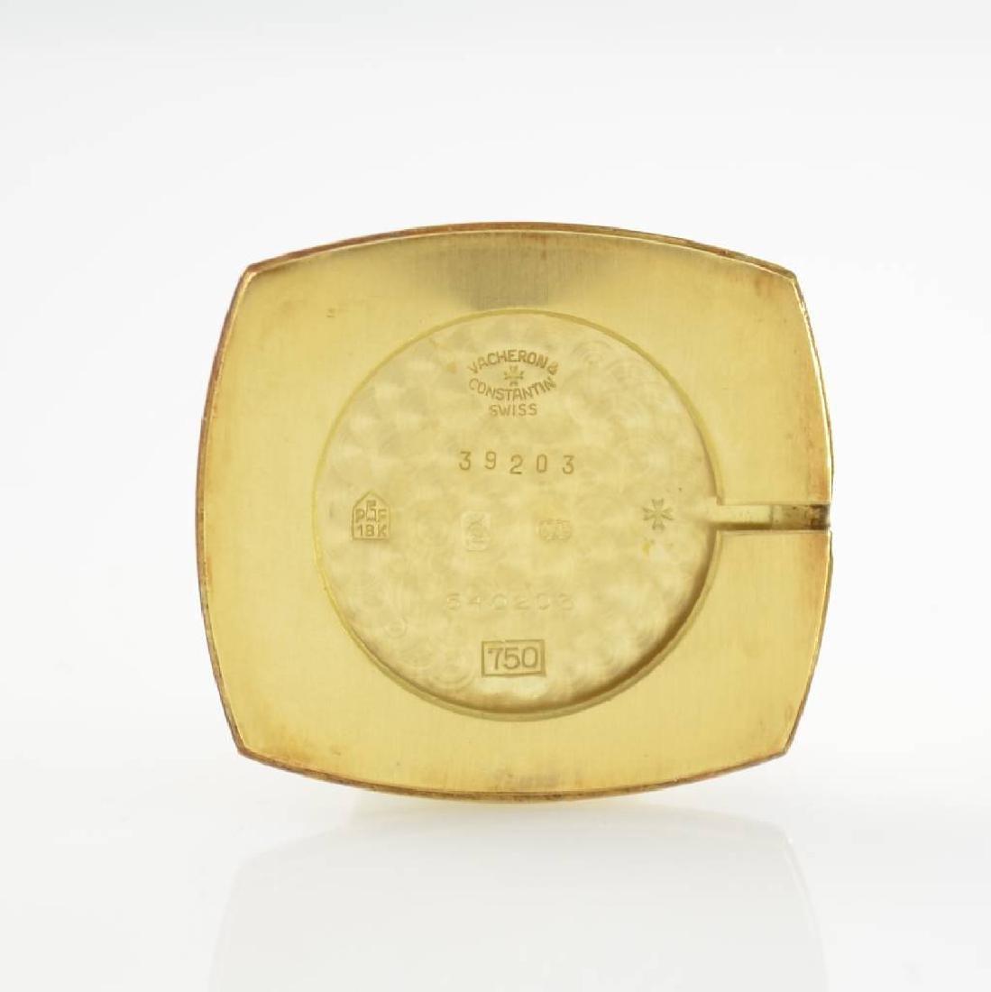 VACHERON CONSTANTIN 18k yellow gold gents wristwatch - 6