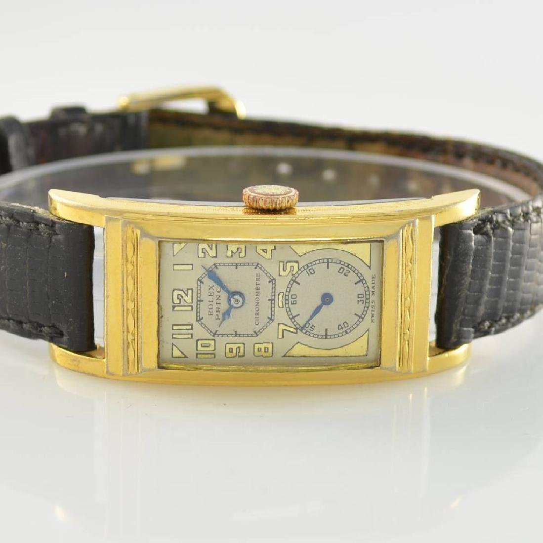 GRUEN gilt rectangular gents wristwatch - 2