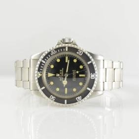 ROLEX Submariner reference 5513 shiny dial