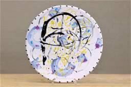 Joachim Czichon, artist plate