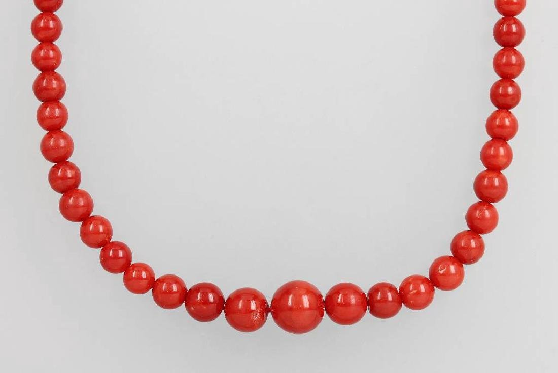 Necklace with corals, Italy approx. 1880/90s