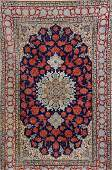 Isfahan 'Part-Silk' Rug (Signed),