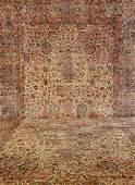Extra Large US Kirman Carpet (Sheik Safi Design),