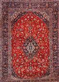 Kashan Carpet (Signed),