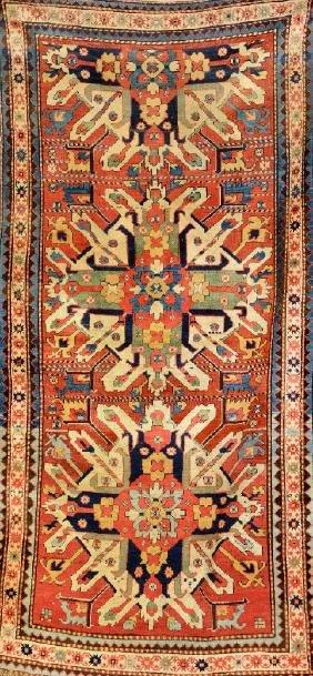 Chelaberd Kazak 'Long-Rug' (Eagle Kazak),