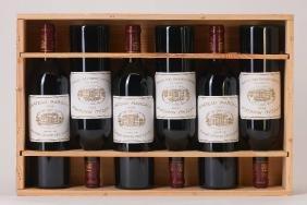 6 bottles of 2009 Chateau Margaux, Margaux