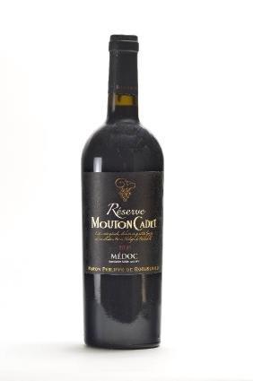 2 bottles of Mouton Cadet Reserve