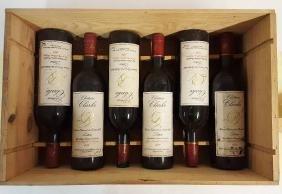 6 bottles of 1979 Chateau Clarke