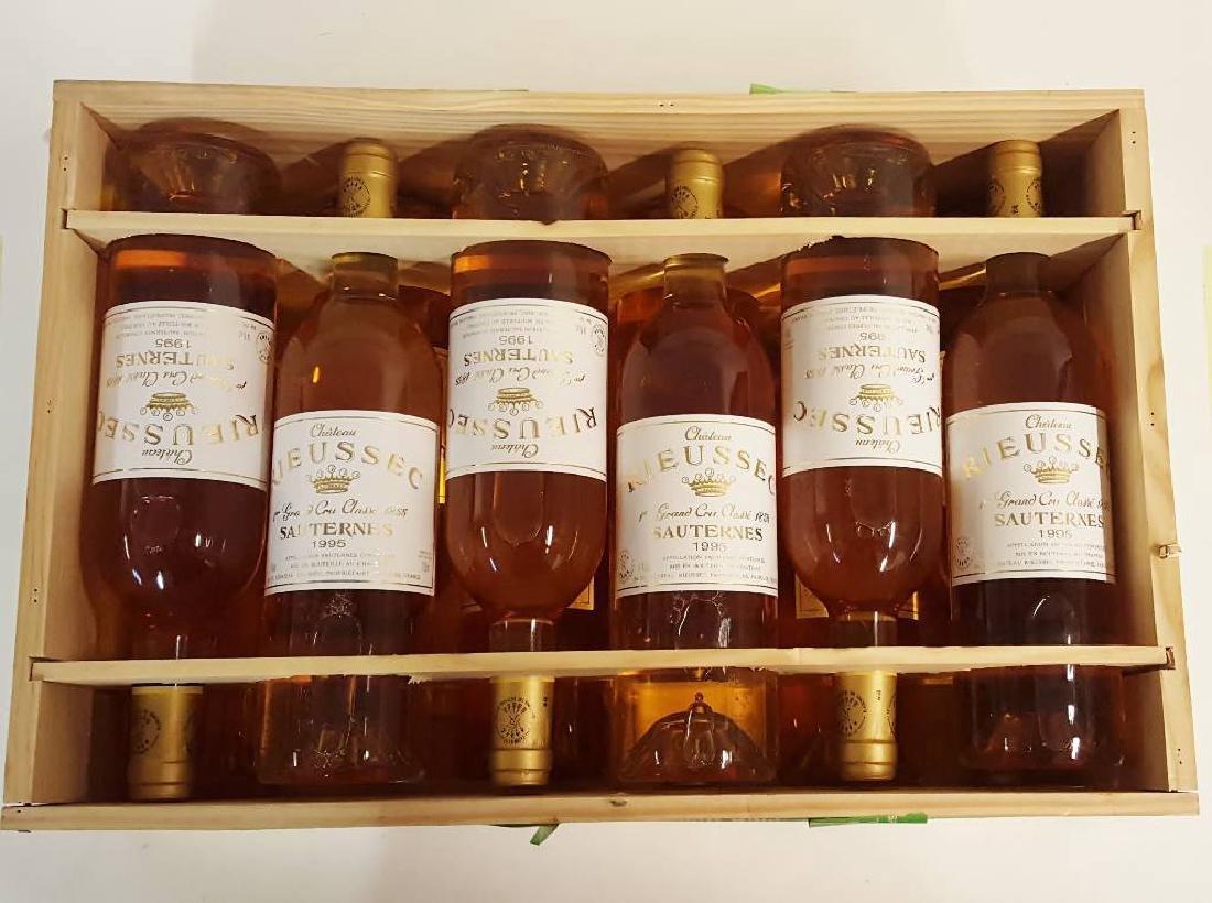 12 bottles of 1995 Chateau Rieussec