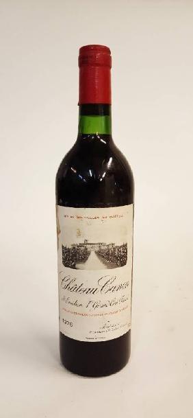 1 bottle 1976 Chateau Canon, Saint-Emilion