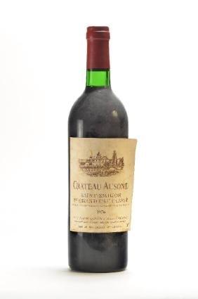 1 bottle of 1976 Chateau Ausone, Saint- Emilion