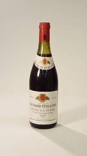 6 bottles of 1986 Bouchard Pere & Fils Cotes du Rhone
