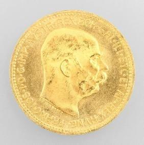 Goldmünze: 20 Kronen 1915